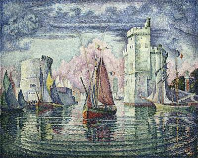 Pointillist Photograph - Signac, Paul 1863-1935. The Port At La by Everett