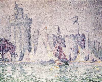 Pointillist Photograph - Signacpaul 1863-1935. Port Of La by Everett