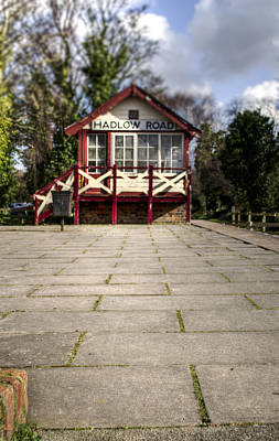 Signalbox Photograph - Signal Box by Spikey Mouse Photography