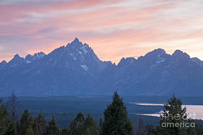 Photograph - Signal Mountain Grand Teton National Park by Fred Stearns