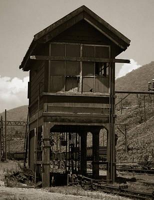 Signalbox Photograph - Signalbox by Amarildo Correa