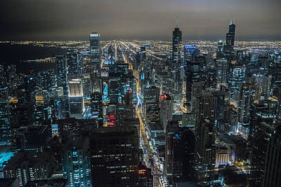 Photograph - Signature Chicago by Alan Marlowe