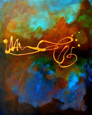 Autographed Painting - Signature by Nancy Merkle