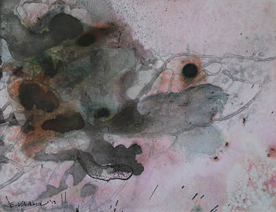 India Ink Wall Art - Painting - Signature Of Ink 13 by Ethel Vrana