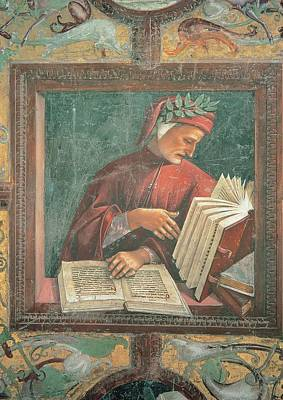 Signorelli Luca, Dante Alighieri, 1499 Art Print