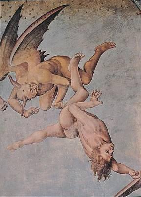 Signorelli Luca, The Damned Souls Art Print