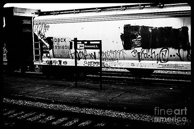 Frank J Casella Royalty-Free and Rights-Managed Images - Signs Monochrome by Frank J Casella