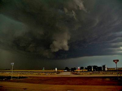 Photograph - Signs Of A Supercell by Ed Sweeney