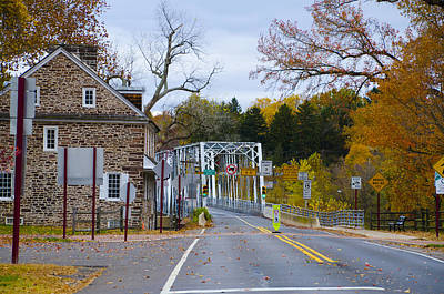 Of Autumn Photograph - Signs Of Autumn At Washington's Crossing by Bill Cannon