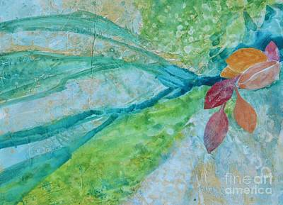 Signs Of Fall Art Print by Barbara Tibbets