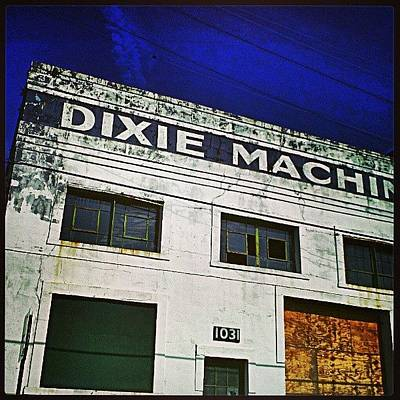 New Orleans Photograph - Signs Of Industrial New Orleans by Glen Abbott