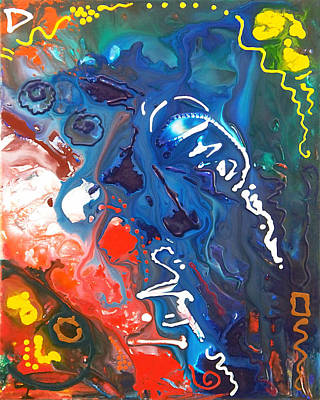 Painting - Signs Of Life Canvas Four by Sally Trace
