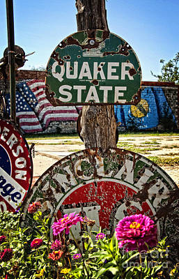 Photograph - Signs Of The Times On Route 66 by Lee Craig