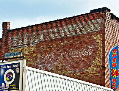 Old Coke Sign Wall Art - Photograph - Signs Signs Everywhere A Sign by Steve Harrington