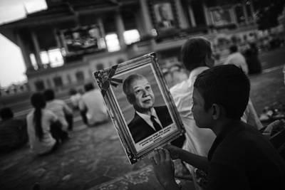 Southeast Asia Photograph - Sihanouk Remembered by David Longstreath