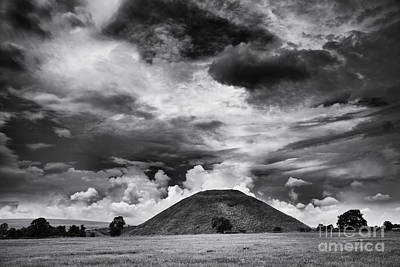 Photograph - Silbury Hill  by Tim Gainey