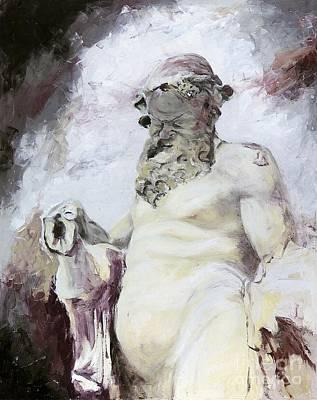 Figurativ Painting - Silen by Karina Plachetka