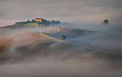 Soil Photograph - Silence by Ales Komovec