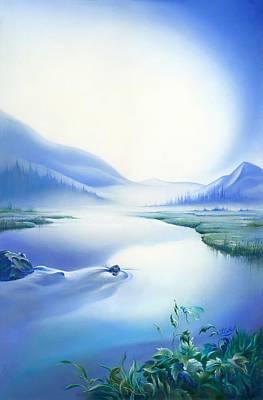 Painting - Silence by Anna Ewa Miarczynska