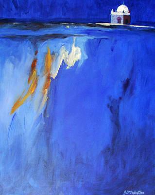 Baba Painting - Silence Night by Joe DiSabatino