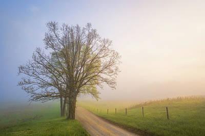 Smoky Mountains Wall Art - Photograph - Silence Of Days by John Fan