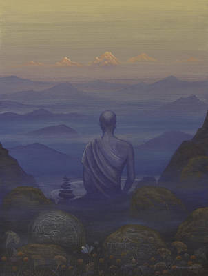 Painting - Silence by Vrindavan Das