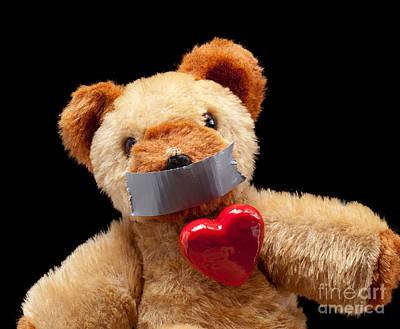 Infidelity Photograph - Silenced Lover by Sinisa Botas