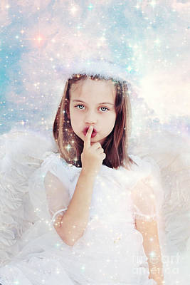 Silent Angel Print by Stephanie Frey