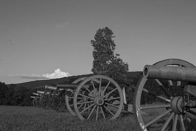 Silent Cannons Art Print by Michael Williams