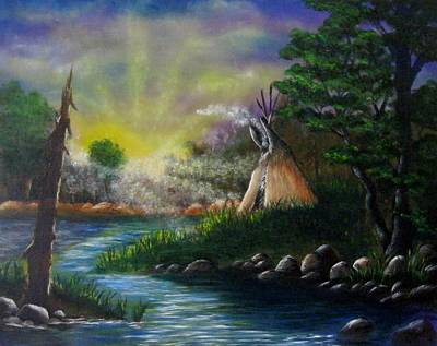 Painting - Silent Dawn by Valorie Cross