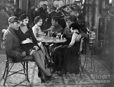 Photograph - Silent Film: Drinking by Granger