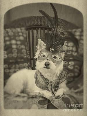 Silent Film Star Art Print by Edward Fielding