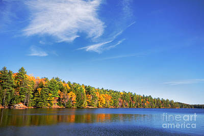 Photograph - Silent Lake 3 by Charline Xia