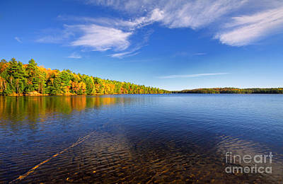 Photograph - Silent Lake 4 by Charline Xia
