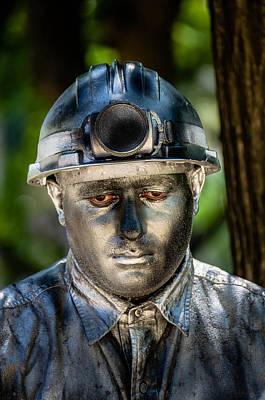 Silver Findings Photograph - Silent Man by Sotiris Filippou