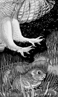 Digital Art - Silent Night by Carol Jacobs
