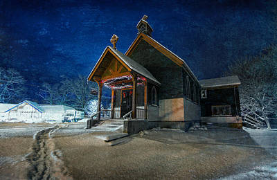 Episcopal Photograph - Silent Night by Everet Regal