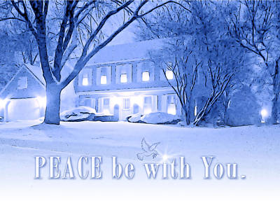 Photograph - Peace Be With You. Greeting Card by Ed Dooley
