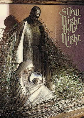 Photograph - Silent Night Holy Night by Jodie Marie Anne Richardson Traugott          aka jm-ART