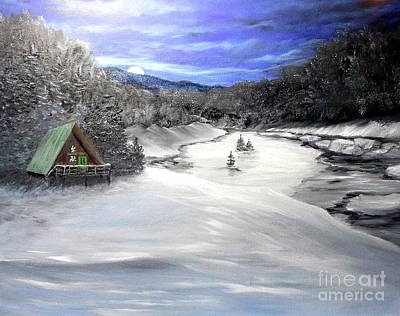 Painting - Silent Night by Peggy Miller
