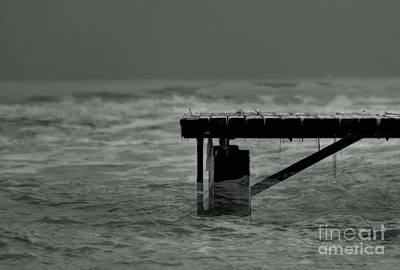 Photograph - Peaceful Pier by Erhan OZBIYIK