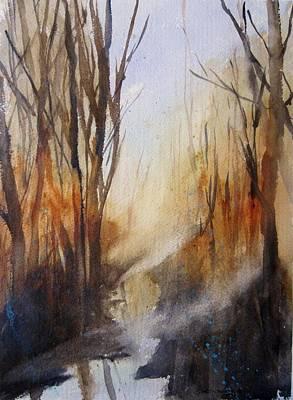 Silent Places Original by Sandra Strohschein