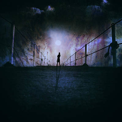 Pier Digital Art - Silent Scream by Stelios Kleanthous