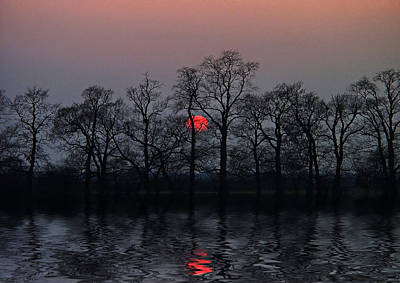 Winter Landscapes Photograph - Silent Sun by Joachim G Pinkawa