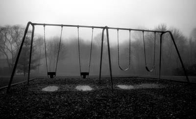 Silent Swings Art Print by Steven Ainsworth