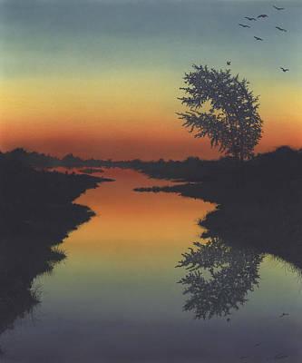 Painting - Silent Waters by Peter Rashford