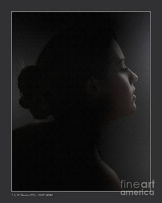 Photograph - Silent Woman by Pedro L Gili