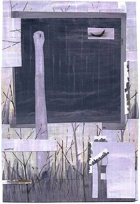 Drawing - Silently The Storm Corrodes by Dan Haley