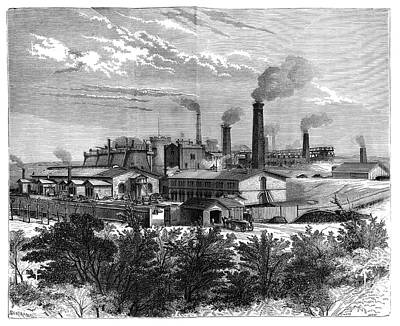 Silesian Mines And Industry Art Print by Science Photo Library