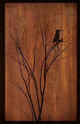 Silhouette Art Print by Barbara Manis